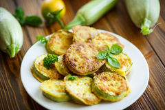 Zucchini fried in batter Stock Photography