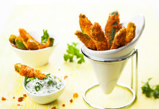 Zucchini Fries Stock Photos