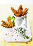 Zucchini Fries Royalty Free Stock Photography