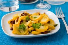 Zucchini fritto Fotografie Stock Libere da Diritti