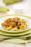 Zucchini fritto Immagine Stock Libera da Diritti