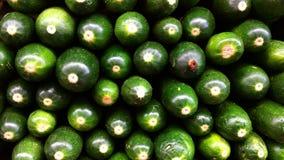 Zucchini gestapelt Stockfoto