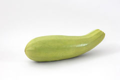 Zucchini getrennt lizenzfreies stockbild