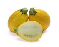 Zucchini gialli Fotografia Stock Libera da Diritti