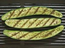 Zucchini grelhado imagens de stock
