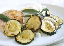 Zucchini grelhado Imagem de Stock