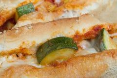 Zucchini grinder sandwich Stock Photos
