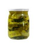 Zucchini inscatolato Fotografia Stock Libera da Diritti