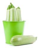 Zucchini isolado Imagem de Stock