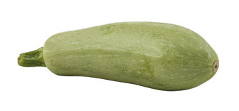 Zucchini isolated. Over white background royalty free stock photos