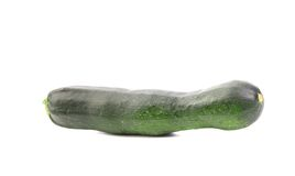 Zucchini isolated on a white background. Stock Photography