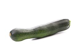 Zucchini isolated on a white background. Stock Image