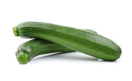 Zucchini isolated on white background Stock Photos