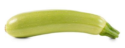 Zucchini isolato su una priorità bassa bianca Fotografie Stock