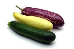 Zucchini, kabaczek i oberżyna, Zdjęcie Royalty Free