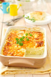 Zucchini Lasagna Royalty Free Stock Images