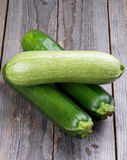 Zucchini and Marrow Vegetables Royalty Free Stock Photography