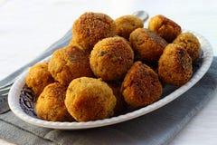 zucchini meatballs баклажана Стоковые Фотографии RF