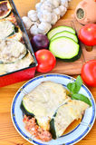 Zucchini moussaka Royalty Free Stock Images