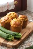 Zucchini muffins Royalty Free Stock Photos