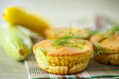 Zucchini muffins Royalty Free Stock Photos