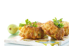 Zucchini muffins royalty free stock photography