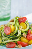 Zucchini Noodles Royalty Free Stock Image