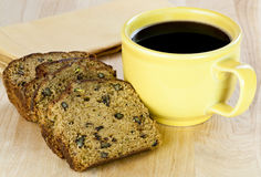 Zucchini nut bread Royalty Free Stock Image