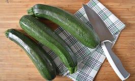 Zucchini organico Fotografie Stock Libere da Diritti