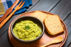 Zucchini and Parsley Spread Royalty Free Stock Image
