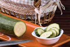 Zucchini (pepo do Cucurbita) imagem de stock
