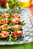 Zucchini, Pepper and Tomato gratin Stock Image