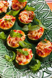 Zucchini, Pepper and Tomato gratin Royalty Free Stock Photography