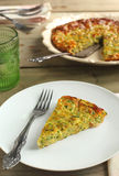 Zucchini pie Royalty Free Stock Images