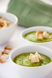 Zucchini polewka Zdjęcie Stock