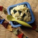 Zucchini risotto Stock Image