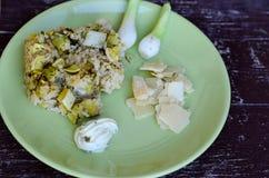 Zucchini risotto Fotografia Stock