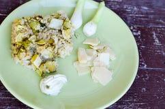 Zucchini risotto Obrazy Stock