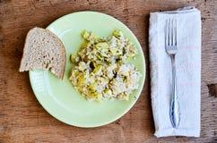 Zucchini risotto Obraz Royalty Free