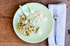 Zucchini risotto Obraz Stock