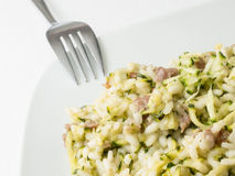 Zucchini risotto, Italy Stock Photos