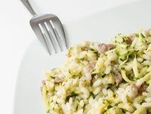 Zucchini risotto, Włochy Zdjęcia Stock