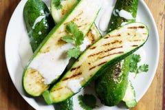 Zucchini sałatka Obrazy Stock