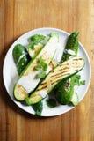 Zucchini sałatka Fotografia Royalty Free