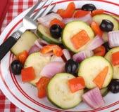 Zucchini Salad Stock Images