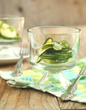 Zucchini salad Royalty Free Stock Images