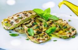 Zucchini salad. Royalty Free Stock Photo
