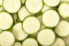 Zucchini sliced background Stock Photo
