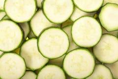 Zucchini sliced background Stock Photo