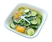Zucchini Soup Stock Photography